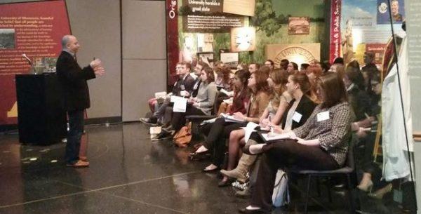 Adam Dince Speaking at Ad2's Student Ad Summit
